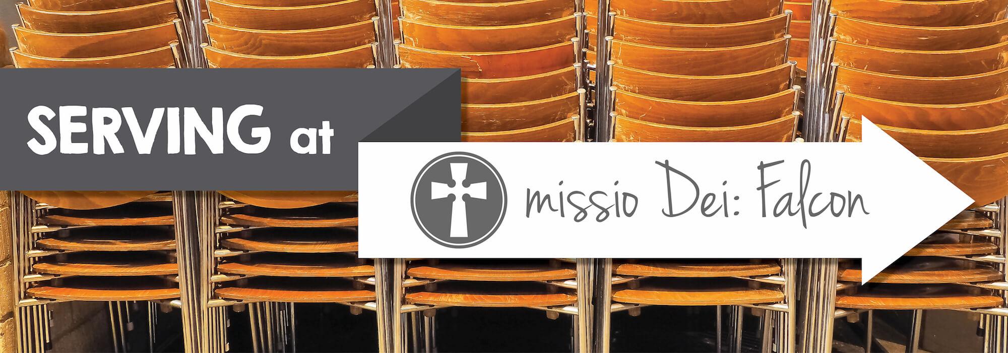 Serving at missio Dei: Falcon